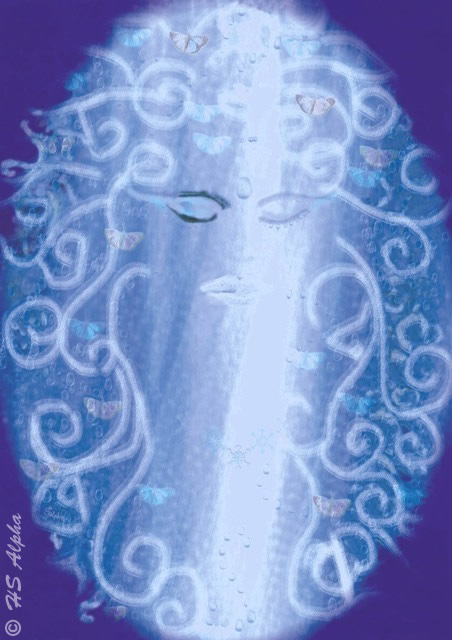 Erstlingswert Digital painting von hsalpha - princess of water